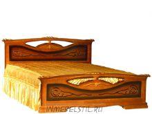 Кровать из массива Елена 2