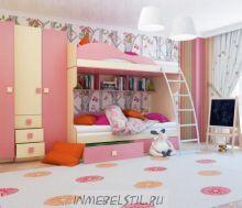 "Детская комната Радуга ""Фламинго"""